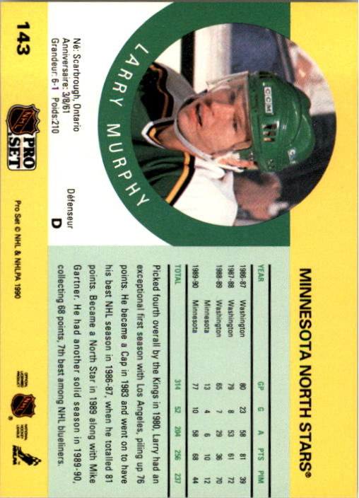 1990-91-Pro-Set-Hockey-Cards-1-222-Rookies-You-Pick-Buy-10-cards-FREE-SHIP thumbnail 285