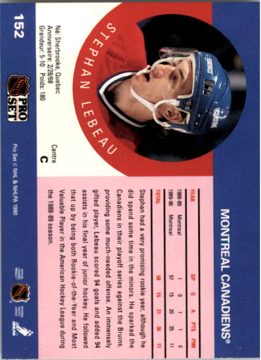 1990-91-Pro-Set-Hockey-Cards-1-222-Rookies-You-Pick-Buy-10-cards-FREE-SHIP thumbnail 303
