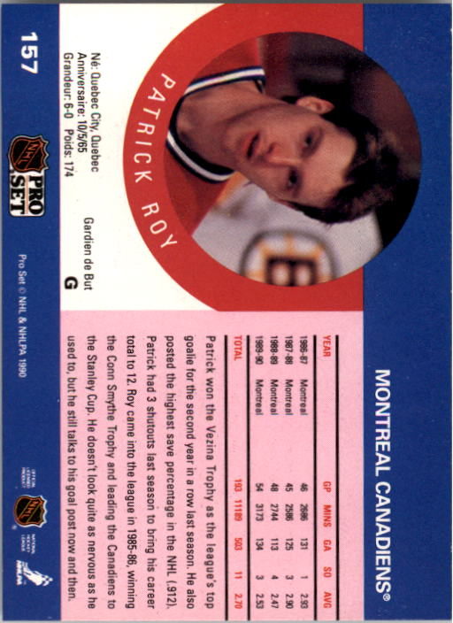 1990-91-Pro-Set-Hockey-Cards-1-222-Rookies-You-Pick-Buy-10-cards-FREE-SHIP thumbnail 313
