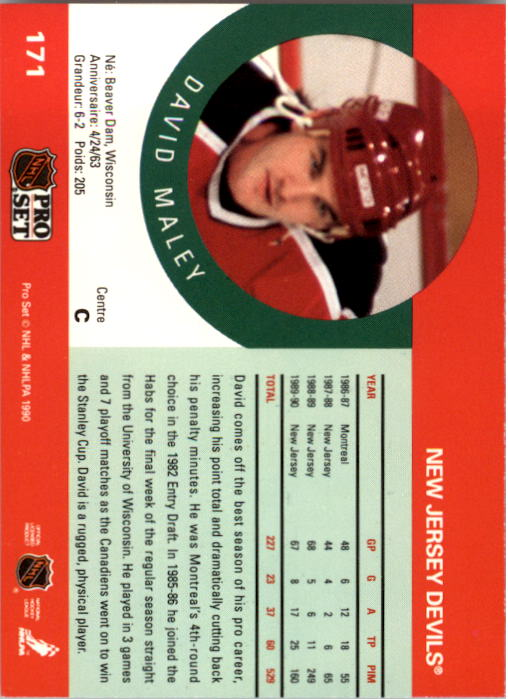 1990-91-Pro-Set-Hockey-Cards-1-222-Rookies-You-Pick-Buy-10-cards-FREE-SHIP thumbnail 341