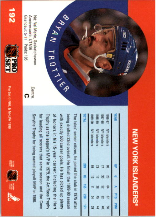 1990-91-Pro-Set-Hockey-Cards-1-222-Rookies-You-Pick-Buy-10-cards-FREE-SHIP thumbnail 383