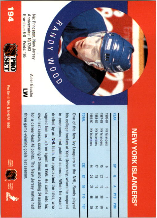 1990-91-Pro-Set-Hockey-Cards-1-222-Rookies-You-Pick-Buy-10-cards-FREE-SHIP thumbnail 387