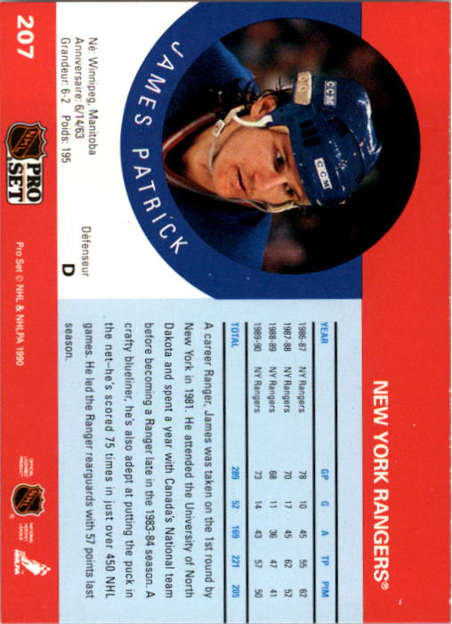 1990-91-Pro-Set-Hockey-Cards-1-222-Rookies-You-Pick-Buy-10-cards-FREE-SHIP thumbnail 413