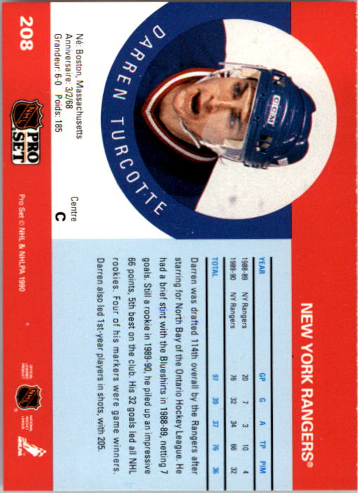 1990-91-Pro-Set-Hockey-Cards-1-222-Rookies-You-Pick-Buy-10-cards-FREE-SHIP thumbnail 415