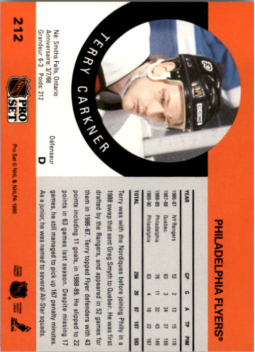 1990-91-Pro-Set-Hockey-Cards-1-222-Rookies-You-Pick-Buy-10-cards-FREE-SHIP thumbnail 423