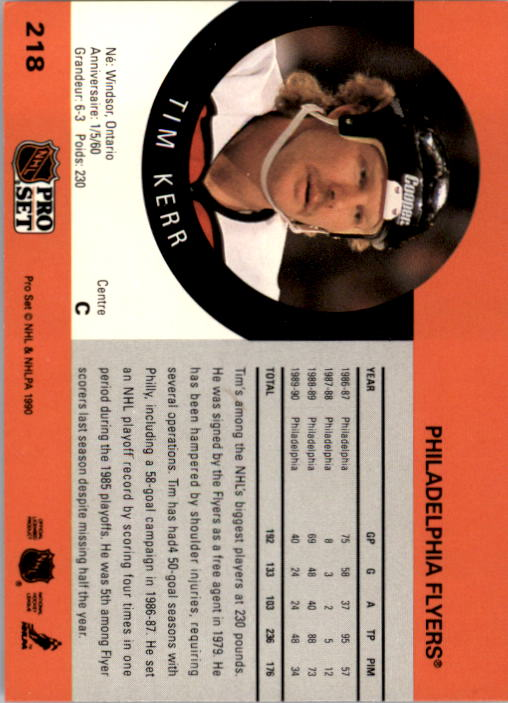 1990-91-Pro-Set-Hockey-Cards-1-222-Rookies-You-Pick-Buy-10-cards-FREE-SHIP thumbnail 435