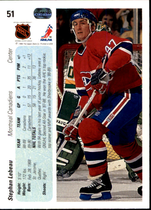1990-91-Upper-Deck-Hockey-s-1-200-Rookies-You-Pick-Buy-10-cards-FREE-SHIP thumbnail 102