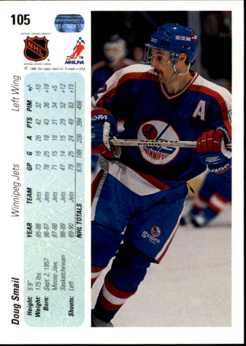 1990-91-Upper-Deck-Hockey-s-1-200-Rookies-You-Pick-Buy-10-cards-FREE-SHIP thumbnail 206