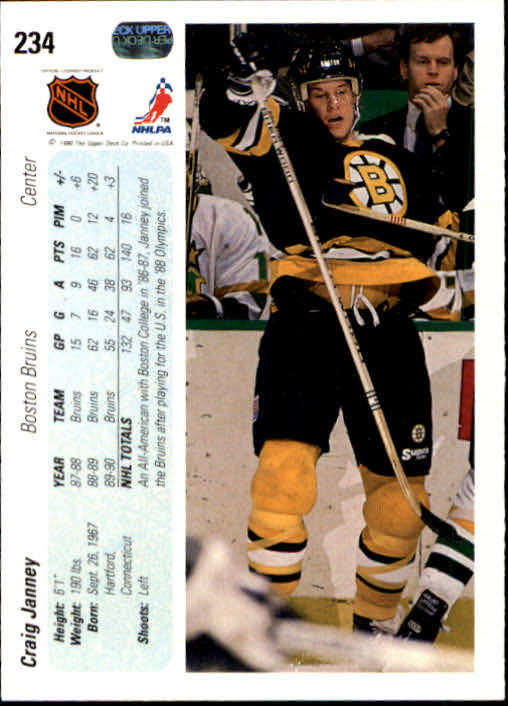 1990-91-Upper-Deck-Hockey-201-400-Rookies-You-Pick-Buy-10-cards-FREE-SHIP thumbnail 67