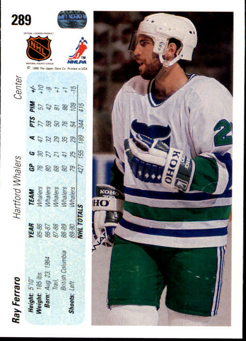 1990-91-Upper-Deck-Hockey-201-400-Rookies-You-Pick-Buy-10-cards-FREE-SHIP thumbnail 177