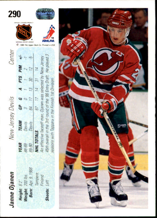 1990-91-Upper-Deck-Hockey-201-400-Rookies-You-Pick-Buy-10-cards-FREE-SHIP thumbnail 179