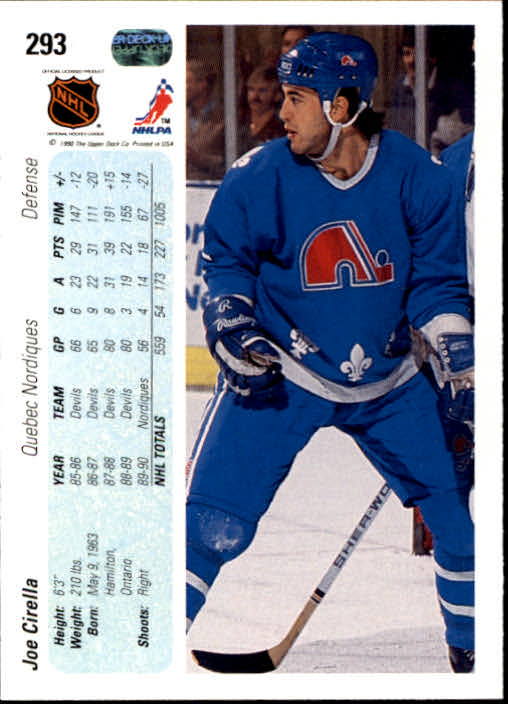 1990-91-Upper-Deck-Hockey-201-400-Rookies-You-Pick-Buy-10-cards-FREE-SHIP thumbnail 185