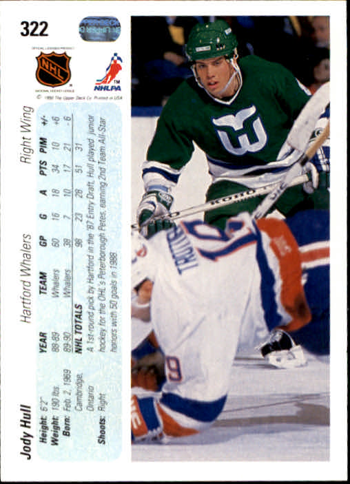 1990-91-Upper-Deck-Hockey-201-400-Rookies-You-Pick-Buy-10-cards-FREE-SHIP thumbnail 243