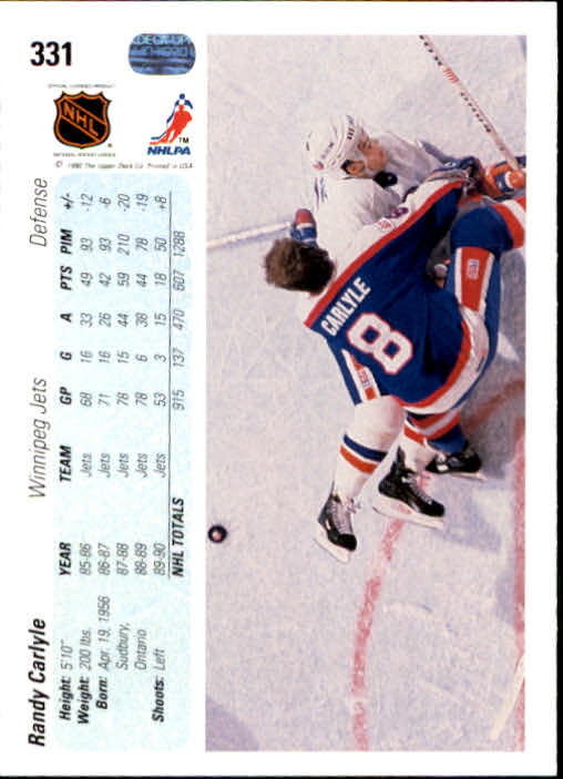 1990-91-Upper-Deck-Hockey-201-400-Rookies-You-Pick-Buy-10-cards-FREE-SHIP thumbnail 261