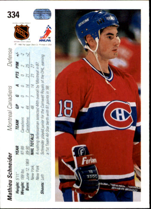 1990-91-Upper-Deck-Hockey-201-400-Rookies-You-Pick-Buy-10-cards-FREE-SHIP thumbnail 267