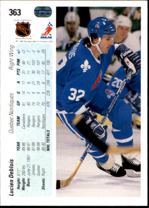 1990-91-Upper-Deck-Hockey-201-400-Rookies-You-Pick-Buy-10-cards-FREE-SHIP thumbnail 323