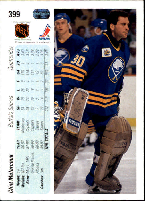 1990-91-Upper-Deck-Hockey-201-400-Rookies-You-Pick-Buy-10-cards-FREE-SHIP thumbnail 395