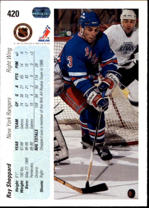 1990-91-Upper-Deck-Hockey-401-550-Rookies-You-Pick-Buy-10-cards-FREE-SHIP thumbnail 41