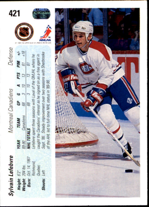 1990-91-Upper-Deck-Hockey-401-550-Rookies-You-Pick-Buy-10-cards-FREE-SHIP thumbnail 43