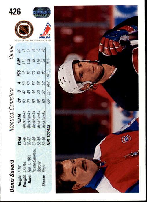 1990-91-Upper-Deck-Hockey-401-550-Rookies-You-Pick-Buy-10-cards-FREE-SHIP thumbnail 53