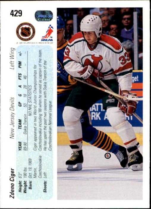 1990-91-Upper-Deck-Hockey-401-550-Rookies-You-Pick-Buy-10-cards-FREE-SHIP thumbnail 59
