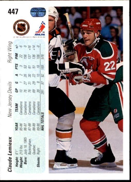 1990-91-Upper-Deck-Hockey-401-550-Rookies-You-Pick-Buy-10-cards-FREE-SHIP thumbnail 95