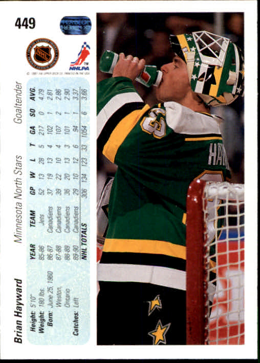 1990-91-Upper-Deck-Hockey-401-550-Rookies-You-Pick-Buy-10-cards-FREE-SHIP thumbnail 99