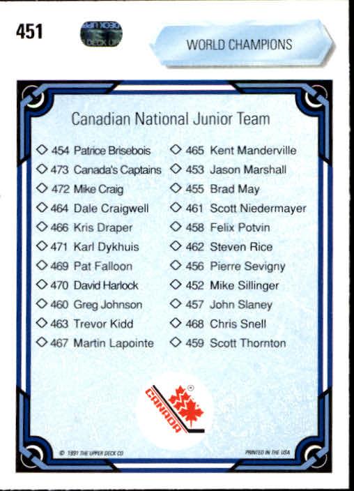 1990-91-Upper-Deck-Hockey-401-550-Rookies-You-Pick-Buy-10-cards-FREE-SHIP thumbnail 103