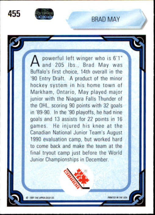 1990-91-Upper-Deck-Hockey-401-550-Rookies-You-Pick-Buy-10-cards-FREE-SHIP thumbnail 111