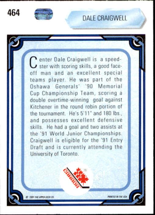 1990-91-Upper-Deck-Hockey-401-550-Rookies-You-Pick-Buy-10-cards-FREE-SHIP thumbnail 129