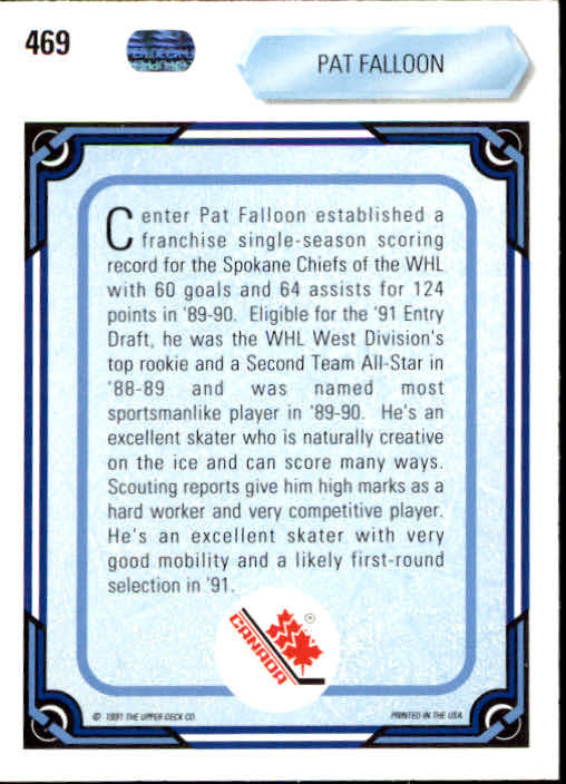 1990-91-Upper-Deck-Hockey-401-550-Rookies-You-Pick-Buy-10-cards-FREE-SHIP thumbnail 139