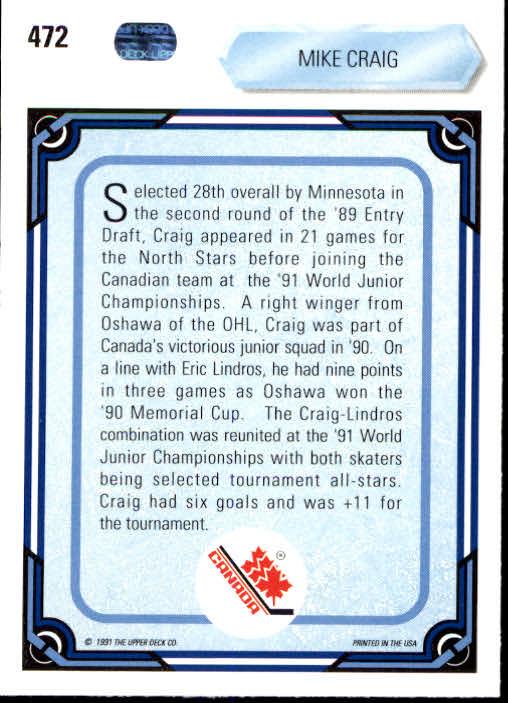 1990-91-Upper-Deck-Hockey-401-550-Rookies-You-Pick-Buy-10-cards-FREE-SHIP thumbnail 145