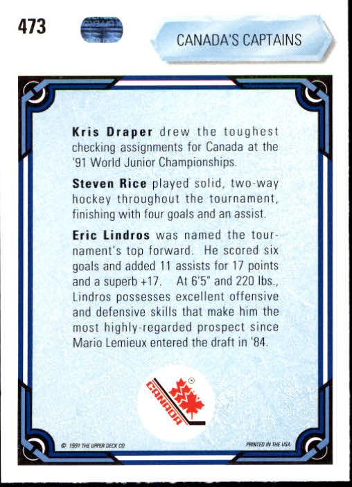 1990-91-Upper-Deck-Hockey-401-550-Rookies-You-Pick-Buy-10-cards-FREE-SHIP thumbnail 147