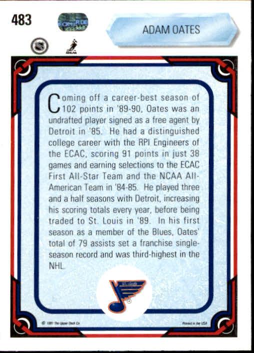 1990-91-Upper-Deck-Hockey-401-550-Rookies-You-Pick-Buy-10-cards-FREE-SHIP thumbnail 167