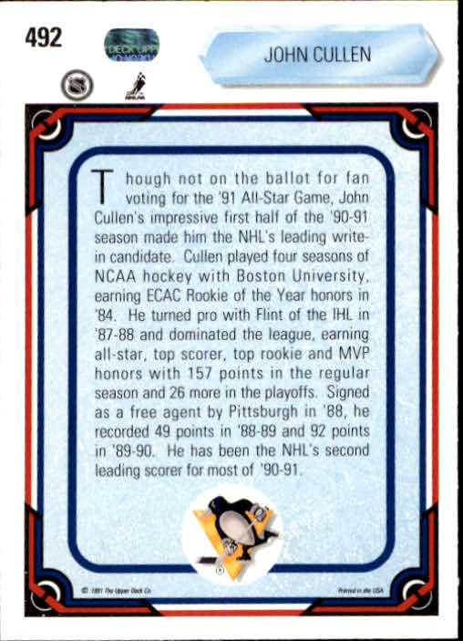 1990-91-Upper-Deck-Hockey-401-550-Rookies-You-Pick-Buy-10-cards-FREE-SHIP thumbnail 185