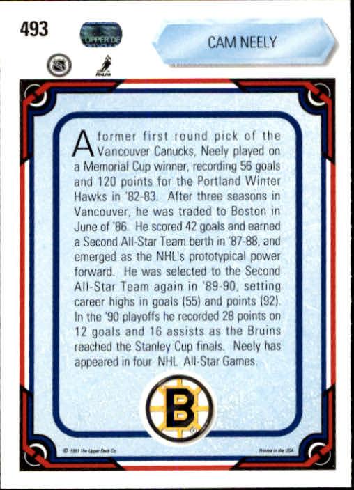 1990-91-Upper-Deck-Hockey-401-550-Rookies-You-Pick-Buy-10-cards-FREE-SHIP thumbnail 187