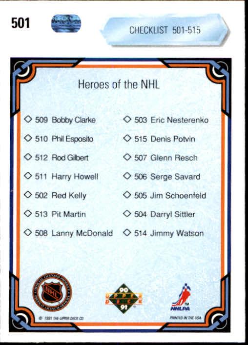 1990-91-Upper-Deck-Hockey-401-550-Rookies-You-Pick-Buy-10-cards-FREE-SHIP thumbnail 203