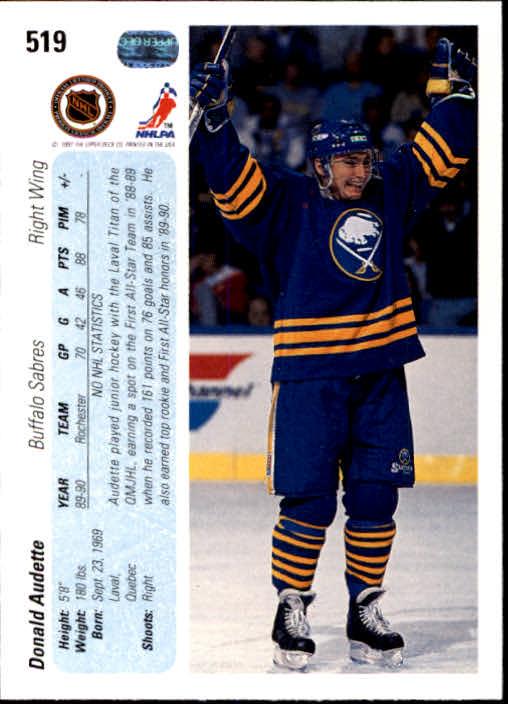 1990-91-Upper-Deck-Hockey-401-550-Rookies-You-Pick-Buy-10-cards-FREE-SHIP thumbnail 239