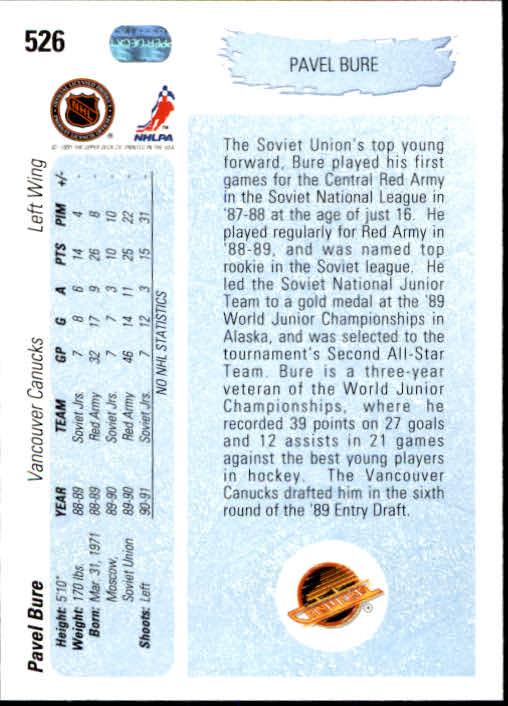 1990-91-Upper-Deck-Hockey-401-550-Rookies-You-Pick-Buy-10-cards-FREE-SHIP thumbnail 253