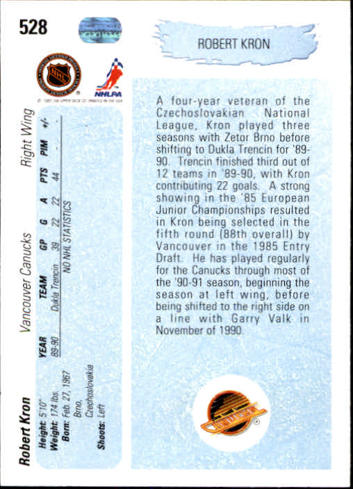 1990-91-Upper-Deck-Hockey-401-550-Rookies-You-Pick-Buy-10-cards-FREE-SHIP thumbnail 257