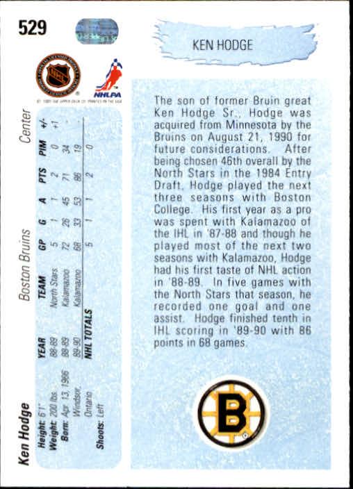 1990-91-Upper-Deck-Hockey-401-550-Rookies-You-Pick-Buy-10-cards-FREE-SHIP thumbnail 259