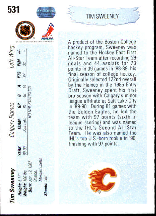 1990-91-Upper-Deck-Hockey-401-550-Rookies-You-Pick-Buy-10-cards-FREE-SHIP thumbnail 263