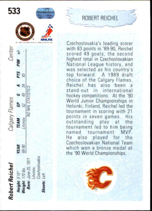 1990-91-Upper-Deck-Hockey-401-550-Rookies-You-Pick-Buy-10-cards-FREE-SHIP thumbnail 267