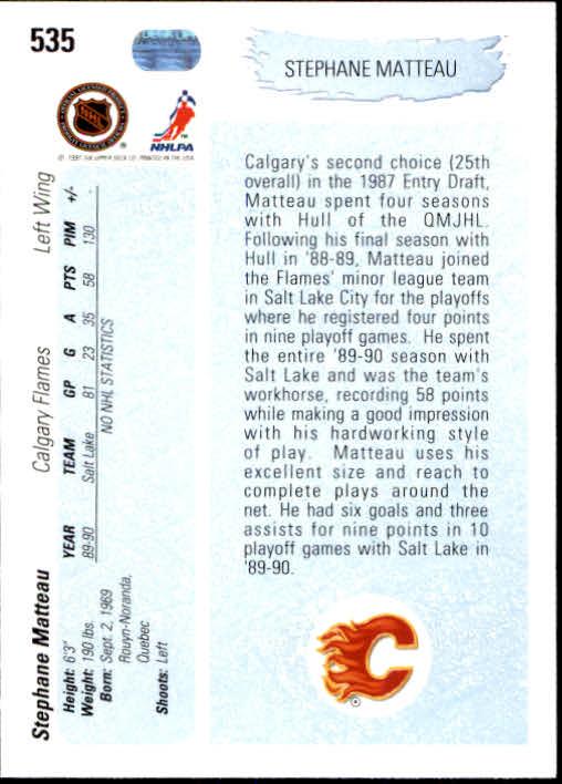 1990-91-Upper-Deck-Hockey-401-550-Rookies-You-Pick-Buy-10-cards-FREE-SHIP thumbnail 271