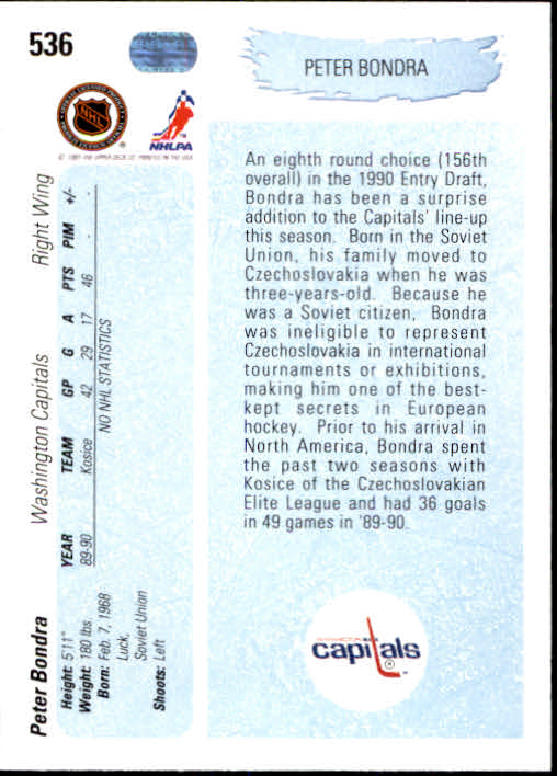 1990-91-Upper-Deck-Hockey-401-550-Rookies-You-Pick-Buy-10-cards-FREE-SHIP thumbnail 273