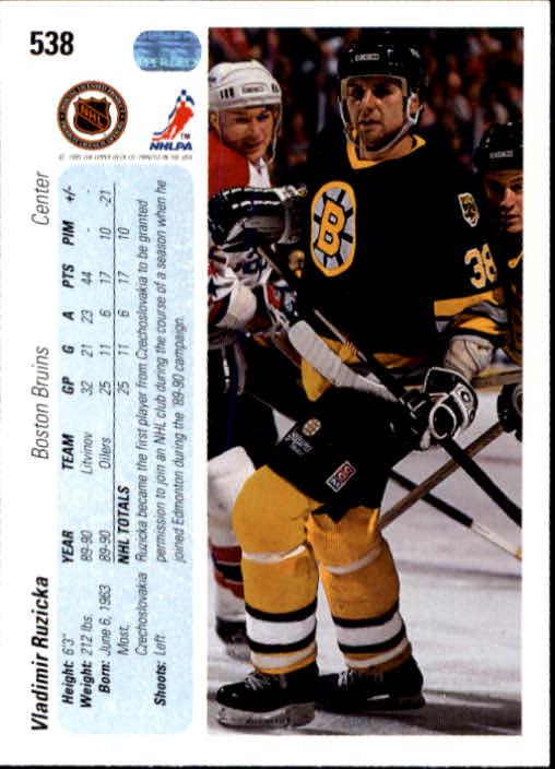 1990-91-Upper-Deck-Hockey-401-550-Rookies-You-Pick-Buy-10-cards-FREE-SHIP thumbnail 277