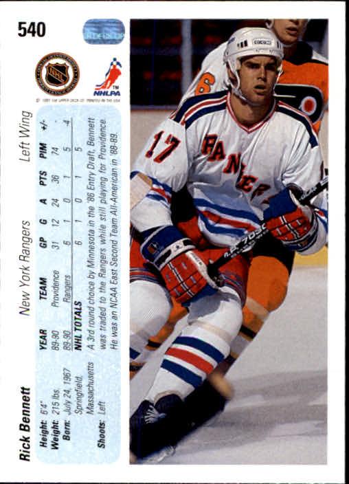 1990-91-Upper-Deck-Hockey-401-550-Rookies-You-Pick-Buy-10-cards-FREE-SHIP thumbnail 281