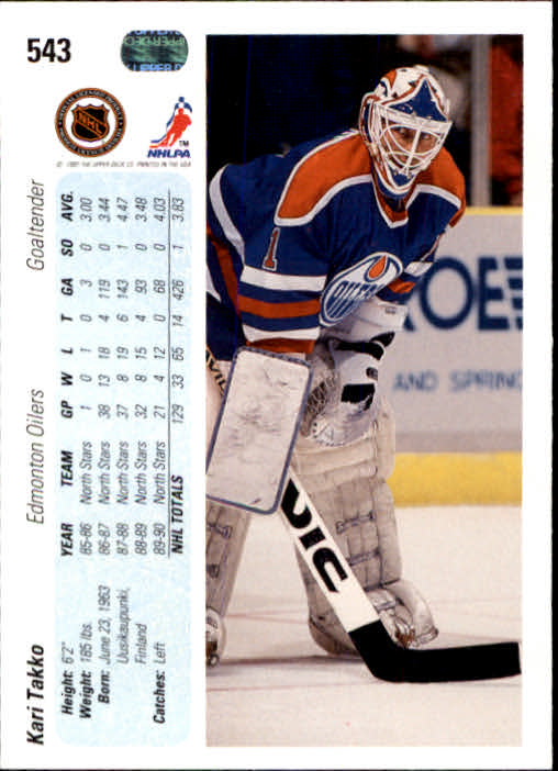 1990-91-Upper-Deck-Hockey-401-550-Rookies-You-Pick-Buy-10-cards-FREE-SHIP thumbnail 287