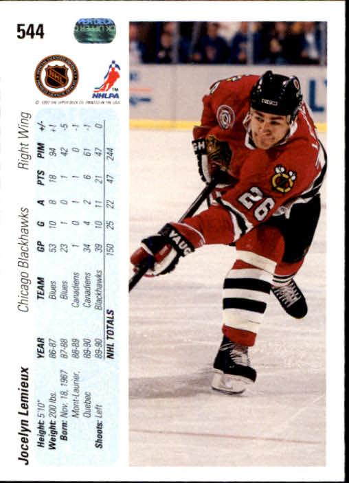 1990-91-Upper-Deck-Hockey-401-550-Rookies-You-Pick-Buy-10-cards-FREE-SHIP thumbnail 289