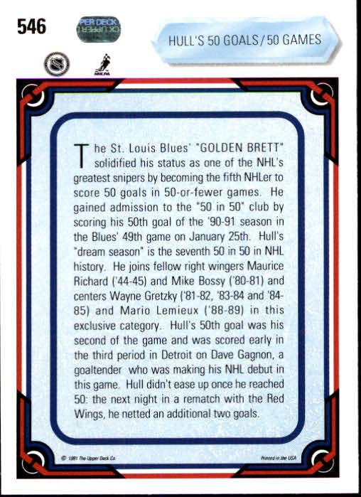 1990-91-Upper-Deck-Hockey-401-550-Rookies-You-Pick-Buy-10-cards-FREE-SHIP thumbnail 293